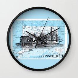 Connecticut Wall Clock