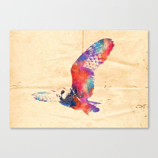 Its a hoot Canvas Print