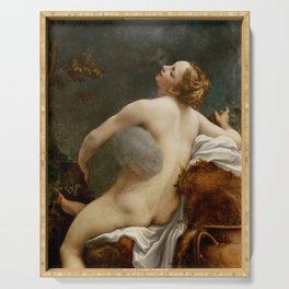 """Antonio Allegri da Correggio """"Jupiter and Io"""" Serving Tray"""