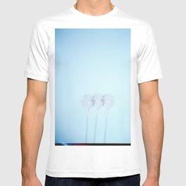 Triple Exposed Palm Trees T-shirt