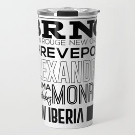 Made In Louisiana Travel Mug