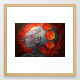 Mother Mnemosyne Framed Art Print