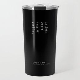 artless craft tea & coffee Travel Mug