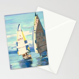 Saiing Regatta at Port Hardy Stationery Cards