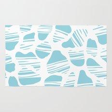 Okapi Animal Print [Island Blue] Rug