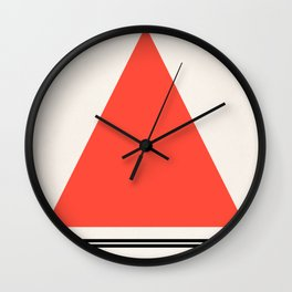 Code Red 002 Wall Clock