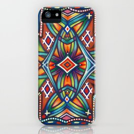 Tales of a Desert Martyr (Horizontal Deck) iPhone Case