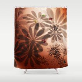 Flower LD Shower Curtain