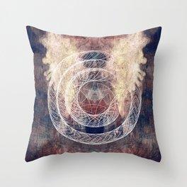 cycles Throw Pillow