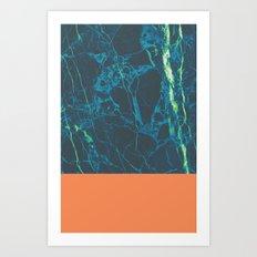 Marble Pablo Art Print