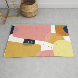Conglomeration in Pastel Rug