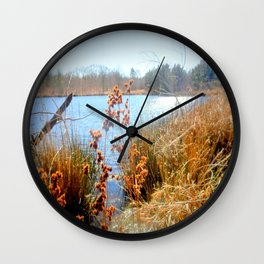 Peaceful Nature Wall Clock