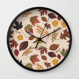 Aurora Autumn Wall Clock