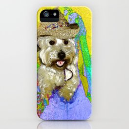 West Highland White Terrier - Ready To Go? iPhone Case