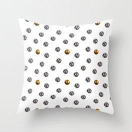 Pachinko Balls Japanese Gambling Game Design Pattern Throw Pillow