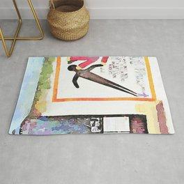 Murals and door Rug
