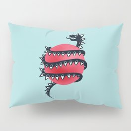 Dragon snake Pillow Sham