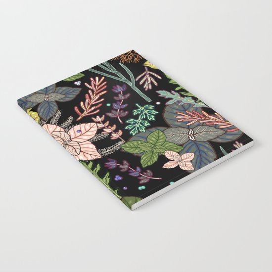 mysterious herbs Notebook