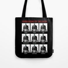Expressions Of The Dalek Tote Bag