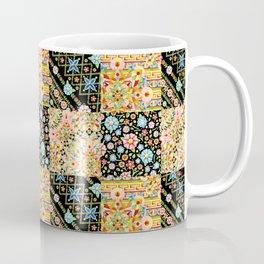 Crazy Crazy Printed Patchwork Coffee Mug