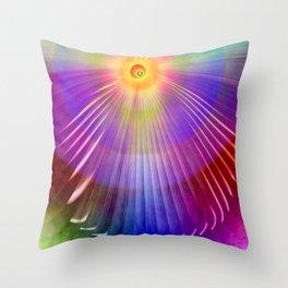 Feel the Spirit Throw Pillow