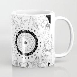 As Above, So Below - Zodiac Illustration Coffee Mug