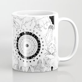 As Above, So Below - Zodiac Illustration Coffee Mug