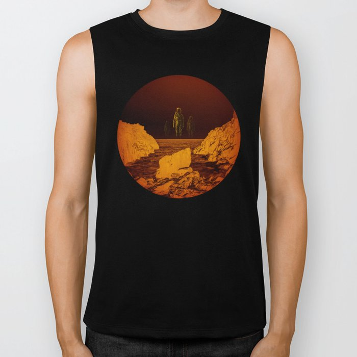 Escape from red planet Biker Tank
