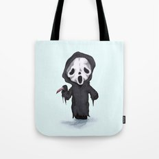 Ghost Face Plush Tote Bag