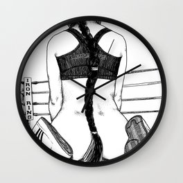 asc 417 - 20131010 La mise hors combat (The knockout) Wall Clock