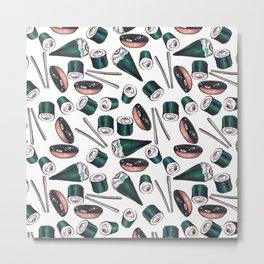 sushi eye Metal Print