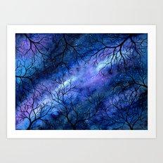 Keep Looking Up Art Print