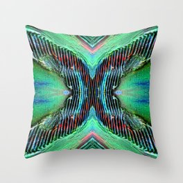 Textured Eye (view 3) Throw Pillow