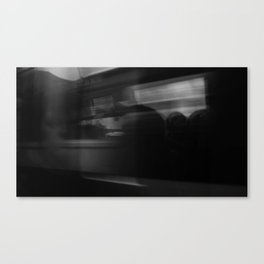 Rushed Reflection  Canvas Print