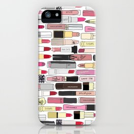 Lipstick War iPhone Case