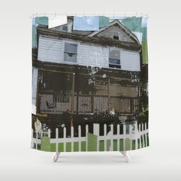 adams family house Shower Curtain