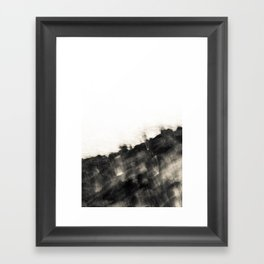 Ragged Line of Sea and Coast Framed Art Print