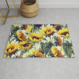 Sunflowers Forever Rug