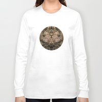 antique Long Sleeve T-shirts featuring Antique Lace by Klara Acel