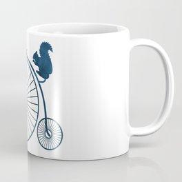 Squirrel on a high wheel Coffee Mug