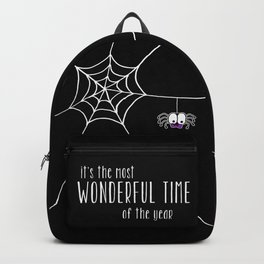 Halloween - it's the most wonderful time of the year Backpack