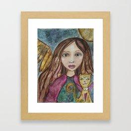 Spirit Traveler  Framed Art Print