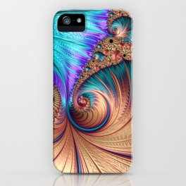 Curling Infinity iPhone Case