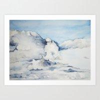 eagle Art Prints featuring Eagle by Tara de la Garza