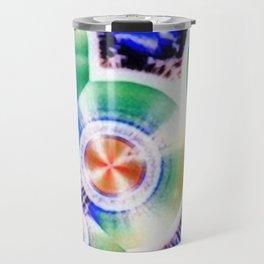 Happy Vitamin C Crystals in Sunlight Travel Mug