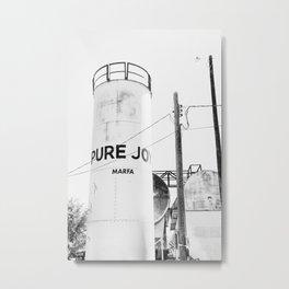 Pure Joy Marfa Metal Print