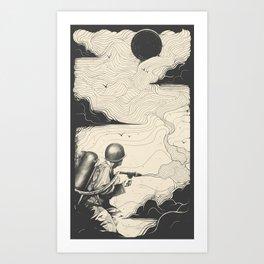 Sky Thrower Art Print