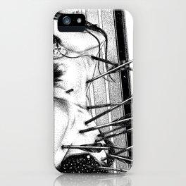 asc 778 - La lione blessée (Love is a killer) iPhone Case