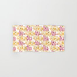 Cherry Blossom Bees Hand & Bath Towel