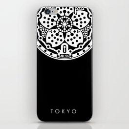 Tokyo Sakura Manhole Cover iPhone Skin